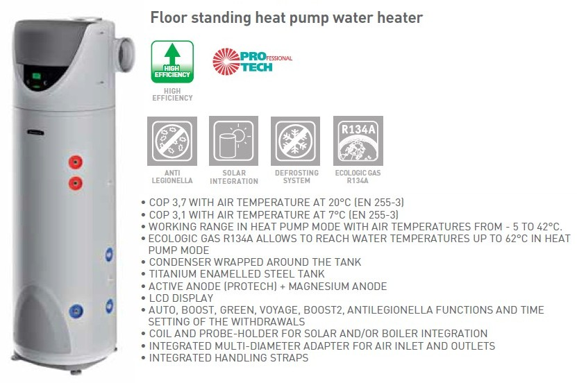 Ariston Nuos Heat Pump